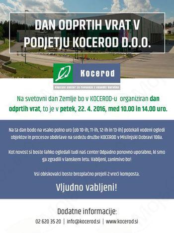 Dan odprtih vrat v podjetju Kocerod d.o.o.