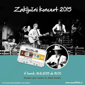 Zaključni koncert Muziklub 2015