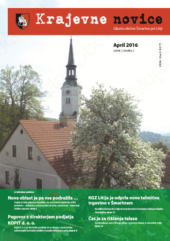 Krajevne novice - april 2016