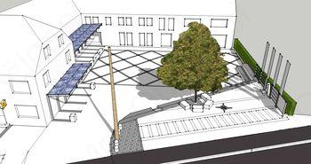 Vloga za pridobitev gradbenega dovoljenja za obnovo centra vasi Križe vložena