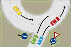 Vožnja v krožnih križiščih