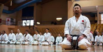 KARATE SEMINAR Z JAPONSKIM MOJSTROM KURIKARA KAZUAKIJEM