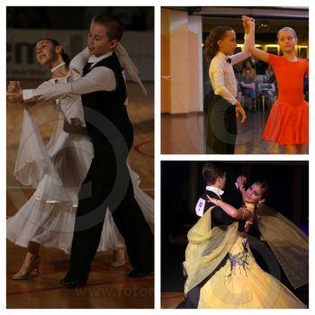 Plesni pari KPK Devžej zelo uspešno odplesali letošnjo prvo kvalifikacijsko tekmo v  Novem mestu
