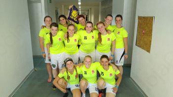 Floorball – LadyZone Borovnica na turnirju Czech open