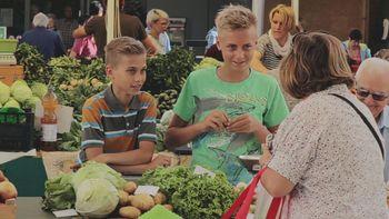 Sanjski projekt  prijateljstva – zelenjavni vrt na filmskem platnu