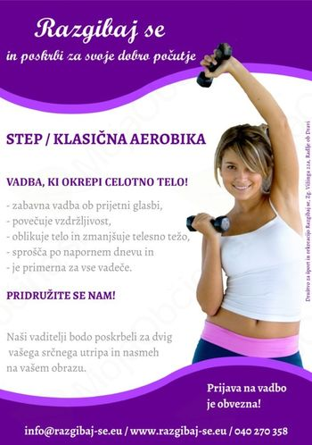 STEP AEROBIKA