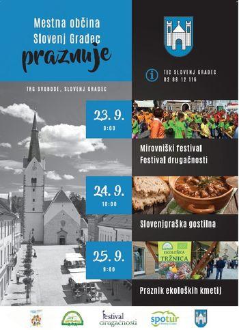 Prireditve ob občinskem prazniku mestne občine Slovenj Gradec