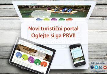 Prenovljeni turistični portal regije www.visitdolenjska.eu