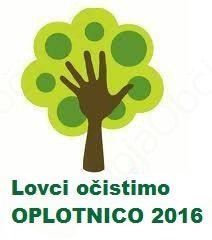 """Akcija čiščenja okolja """"Lovci očistimo Oplotnico 2016"""""""