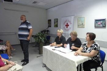 Novi predsednik  Območnega  združenja Rdečega križa