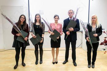 Škrabčeva štipendija podeljena koroški študentki doktorskega študija slovenistike