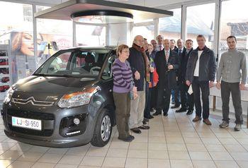 Tudi njegovo 26. vozilo ostaja Citroën