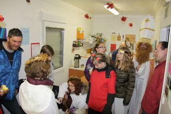 Prihod Miklavža med novogoriške brezdomce