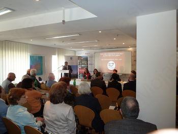 Predstavitev Poti miru od Alp do Jadrana in Doline Soče v PresseClub v Münchnu