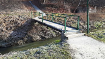 Obnova mostu čez Žitečki potok
