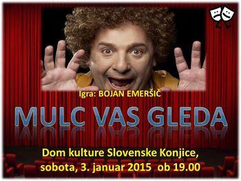 Novoletna gledališka predstava: MULC VAS GLEDA