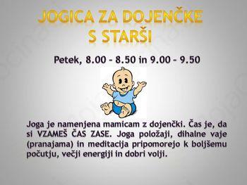 Jogica za dojenčke (do 12 mes) s starši