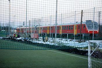 V Ivančni Gorici nesreča na železniških tirih