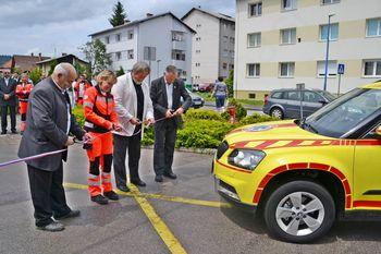 Novo reševalno vozilo za nujno medicinsko pomoč