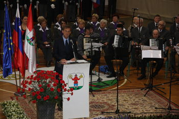 Proslava ob obletnici odhoda zadnjega vojaka JA iz Slovenije