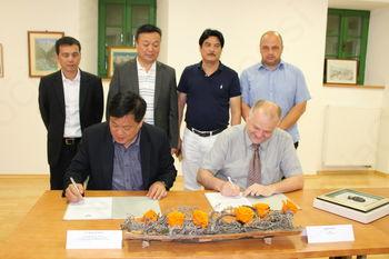 Obisk delegacije iz Kitajske