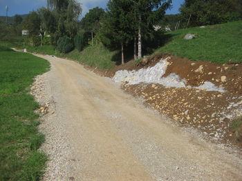 Urejeno odvodnjavanje na cesti Brode - Tešova