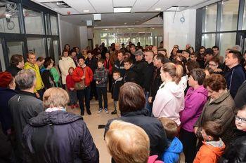 Dan odprtih vrat na novi šoli in vrtcu v Zagradcu