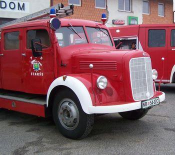 Predstavitev gasilske tehnike