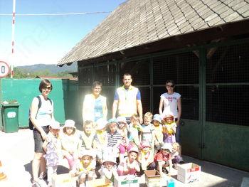Otroci na obisku komunalnega podjetja