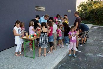 Otroške ustvarjalne delavnice v Vrtojbi