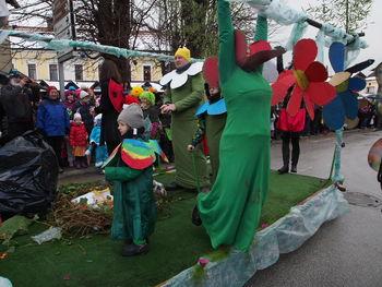 Vranski pustni karneval bil je živ