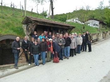 Upokojenci z Vrhnike na Kozjanskem in Bizeljskem