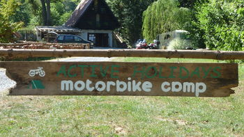 Motoristični kamp Motolux - priprava na naslednjo sezono