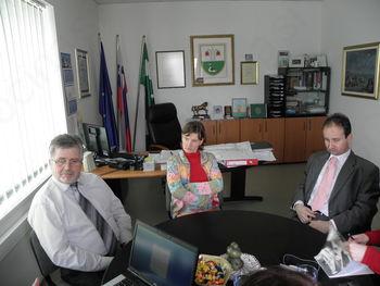 Župan sprejel predstavnike Direkcije RS za ceste