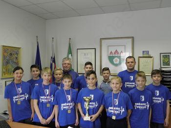 Župan sprejel državne prvake