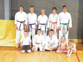 Preizkus znanja karatistov Karate kluba Mislinja