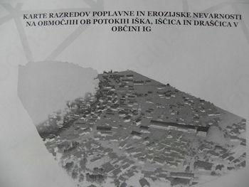 Karte razredov poplavne nevarnosti na območju naše občine