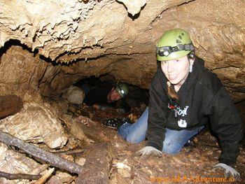 Obisk jame M. in Velika Pasica na Gornjem Igu
