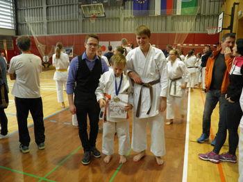 1. Pokalna tekma Zveze klubov JKA karateja