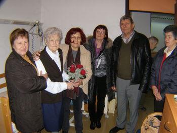Vsako leto se število starejših veča. Starejša kot sto let pa je Marija Bradač edina v občini Žužemberk.