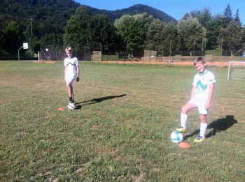 Nogometna vadba za mlade navdušence