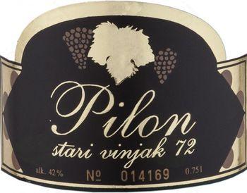 Vinjak Pilon 1972 ob svoj bok dobiva vinjak letnik 2005