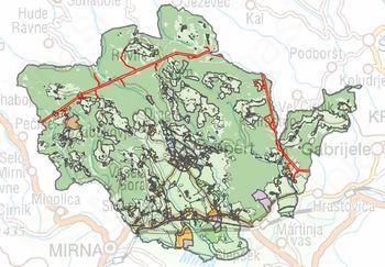 Občina Šentrupert vzporedno pripravlja kar tri nove občinske podrobne prostorske načrte (OPPN)