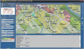 Izvleček lokacijske informacije na PISO