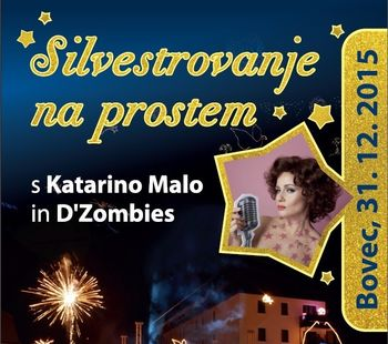 Novo leto s Katarino Malo in D'Zombies