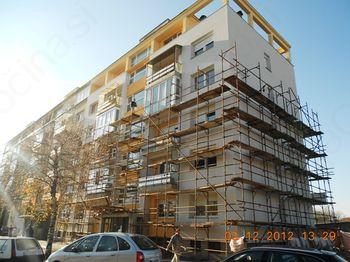 Sanacija fasad večstanovanjskih zgradb