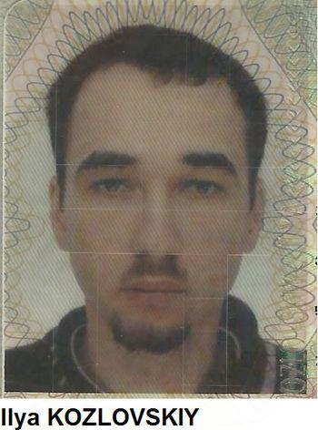 Pogrešani nemški državljan Iliya Kozlovskiy