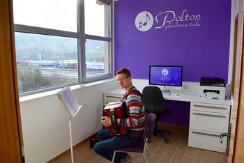 Glasbena šola Polton v novih prostorih