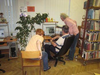 Knjižnica odprla vrata prostovoljcem