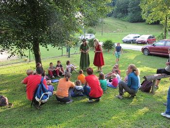 Potovke na pikniku v Ljubiji